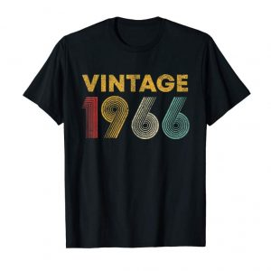 Buy Now 53rd Birthday Gift Idea Vintage 1966 T-Shirt Men Women