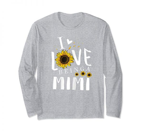 Order Womens I Love Being A MIMI T-shirt Grandma Family Gift Tee