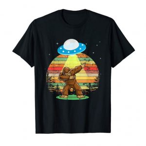 Order Now Bigfoot Alien Dabbing T Shirt Funny Dab Monster Gifts