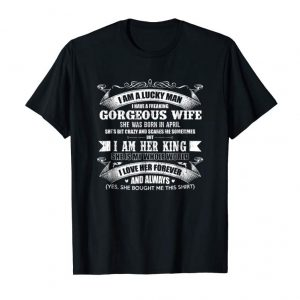Trending I Have A Freaking Gorgeous Wife Couple T-Shirt