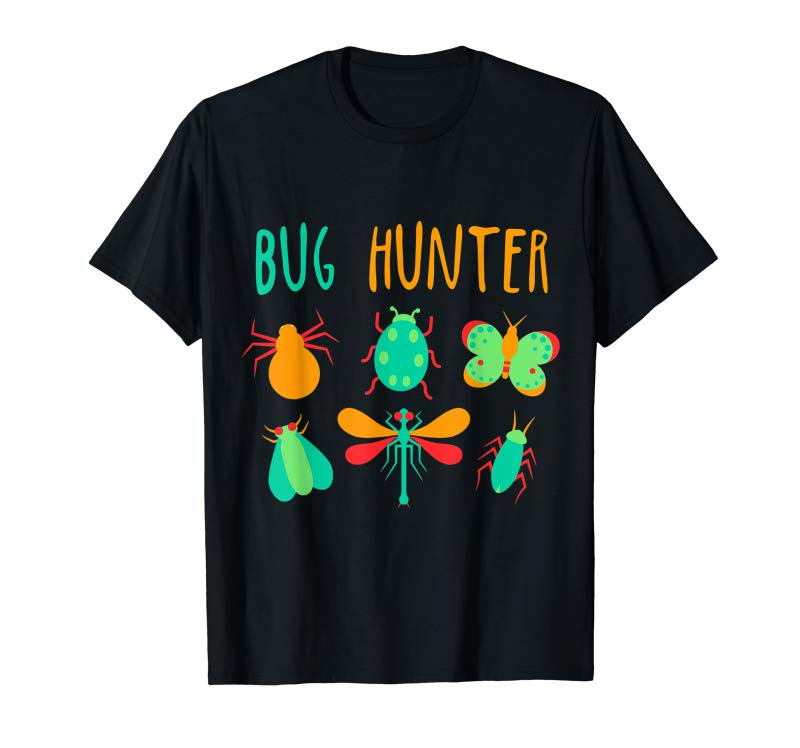 Trends Bug Hunter T-Shirt Insect Lover Gift For Kids - Boys & Girls