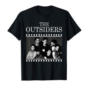 Get Now The Outsiders Vintage Filming 80's Drama Movie Pony T-shirt