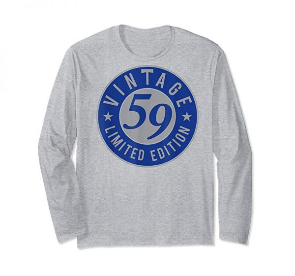 Buy 60th Birthday Gift Vintage 1959 TShirt- 60 Years Old Shirt