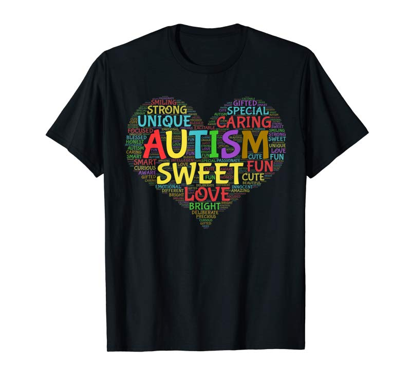 Order Now Autism Heart Autism Awareness Autism Pride  Support T Shirt
