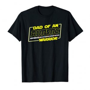 Trends Father's Day Autism Warrior Awareness Dad T Shirt For Men