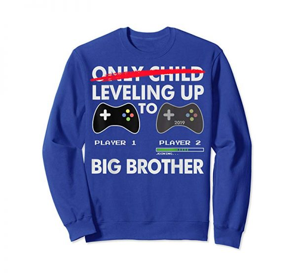 Get Leveling Up To Big Brother Shirt - Promoted To Big Brother