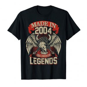 Order Now The Birth Of Legends Made In 2004 15th Birthday Gift 15 Year