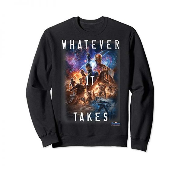 Order Marvel Avengers Endgame Movie Poster Whatever It Takes T-Shirt