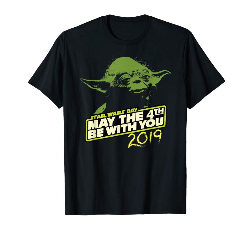 Trending Star Wars Day Yoda May The 4th Be With You 2019 T-Shirt