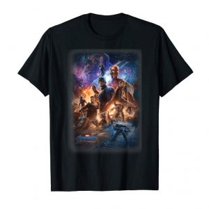 Get Now Marvel Avengers Endgame Galaxy Movie Poster Group Shot  T-Shirt