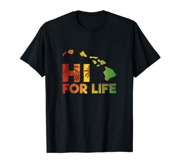 Trending Hawaii For Life Rasta Island Chain Tank Top