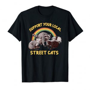 Trending Support Your Local Street Cats T Shirt