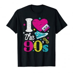 Trends I Love The 90's Clothing Retro Nineties Apparel T-Shirt
