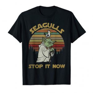 Get Now Funny Seagull T-shirt I Wil Stop The Bird It Now Tee