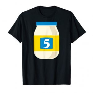 Get 5 De Mayo T-shirt Funny Cinco De Mayo Party Joke Mayonnaise