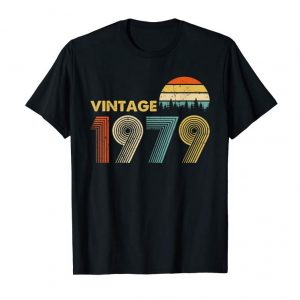 Order Now Made In 1979 T-Shirt Vintage 40th Birthday 40 Years Old Gift