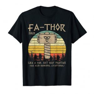Get Fathor Definition Like Dad Just Way Mightier Hero Shirt