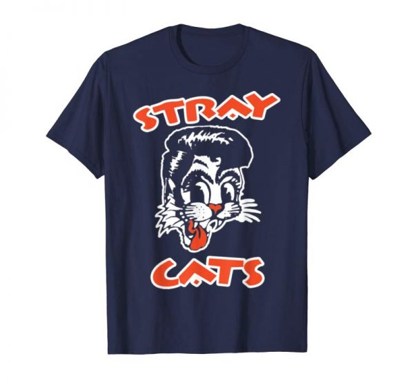 Cool STRAY CATS Rockabilly Cool Cat Tattoo T-Shirt