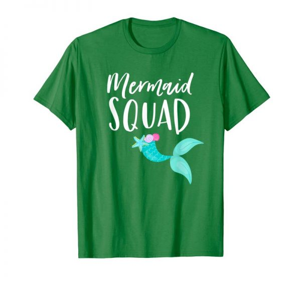 Buy Mermaid Squad Birthday Squad Shirt For Party Mom Mama Girl