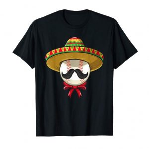 Buy Now Cinco De Mayo Shirt | Baseball Mexican Sombrero T-Shirt