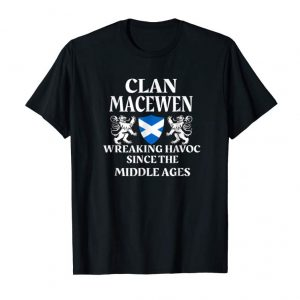 Buy Now MacEwen Scottish T-Shirt Family Clan Scotland Name Gift