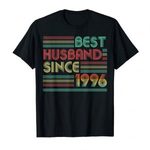Buy 23rd Wedding Anniversary Gifts Best Husband Since 1996 Shirt