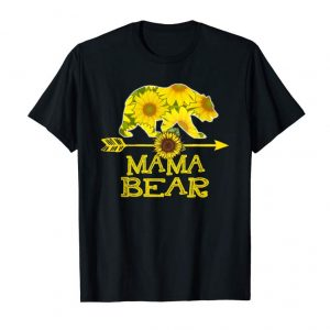 Order Now Mama Bear Sunflower T-Shirt Funny Mother Father Gift