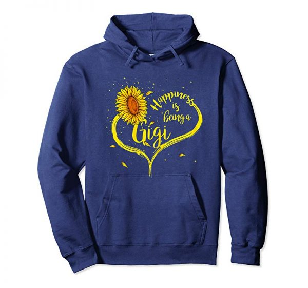 Trending Womens Happiness Is Being A Gigi Shirt Sunflower Grandma Gift Tees