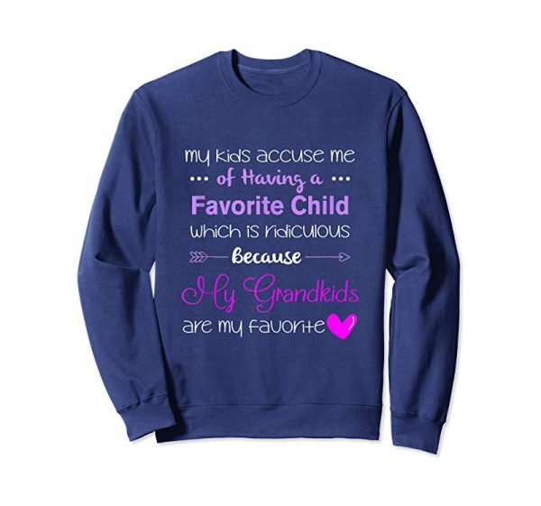 Order Now My Grandkids Are My Favorite, Funny T-Shirt For Grandma Tank Top