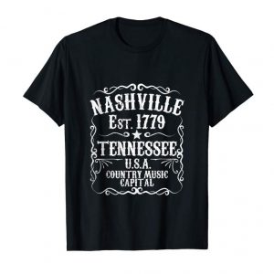 Order Nashville Tennessee Music City USA Country Concert Gift Idea Tank Top