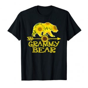 Order Now Grammy Bear Sunflower T-Shirt Funny Mother Father Gift