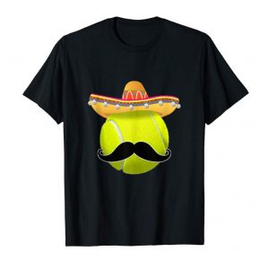 Buy Funny Tennis Ball Mustache Mexican Sport Cinco De Mayo Tank Top