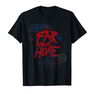 Buy Marvel Spider-Man: Far From Home Travel Stamps T-Shirt
