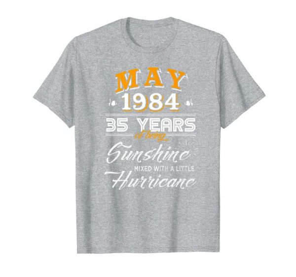 Get Now May 1984, 35 Years Wedding Anniversary, 35th Birthday Premium T-Shirt