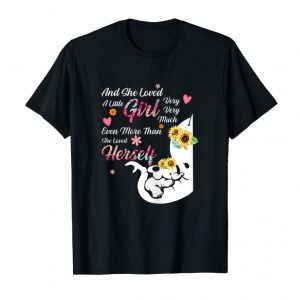 Buy Now And She Loved A Little Girl Very Very Much Elephant Shirt