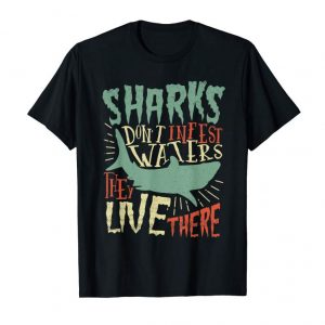 Cool Save Our Sharks Fishing Conservation Lover Saying T Shirt