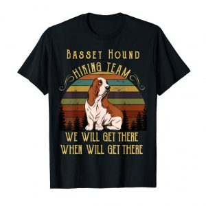 Buy Now Basset Hound Hiking Team Father's Day Gift Shirt