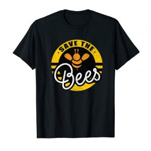 Buy Now Save The Bees Design Planet Earth Day Beekeeper Beekeeping Premium T-Shirt