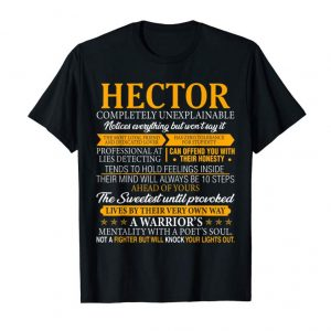 Buy HECTOR Completely Unexplainable Shirt First Name Tee