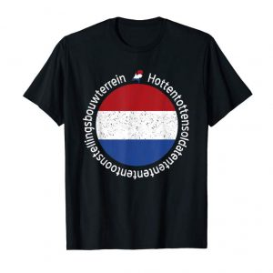 Order Netherlands Tshirt Longest Word Flag Shirt Funny Dutch Shirt T-Shirt