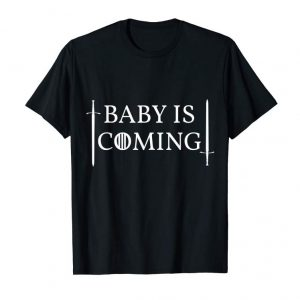 Buy Now Baby Is Coming Pregnancy Announcement T-shirt
