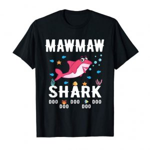 Buy Mawmaw Shark Shirt Mothers Day For Matching Family Tee