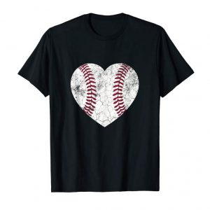 Buy Mother's Day Gift Distressed Heart Baseball Heart Mom Mommy Tank Top