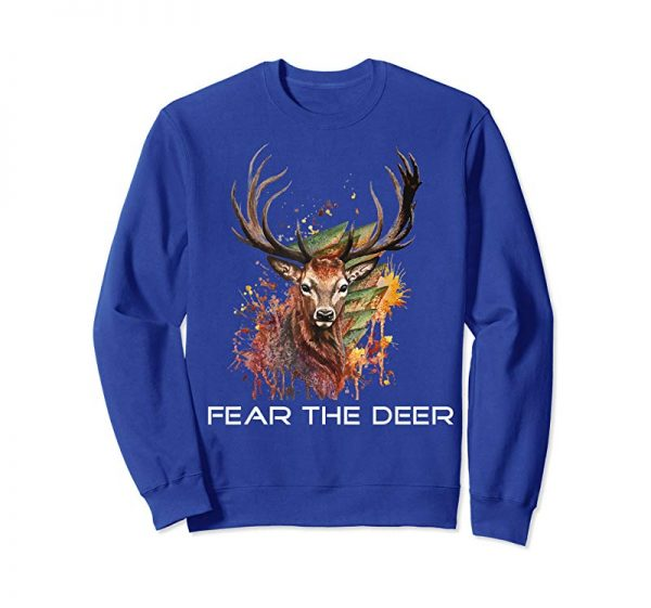 Buy Now Fear The Deer Basketball T-Shirt