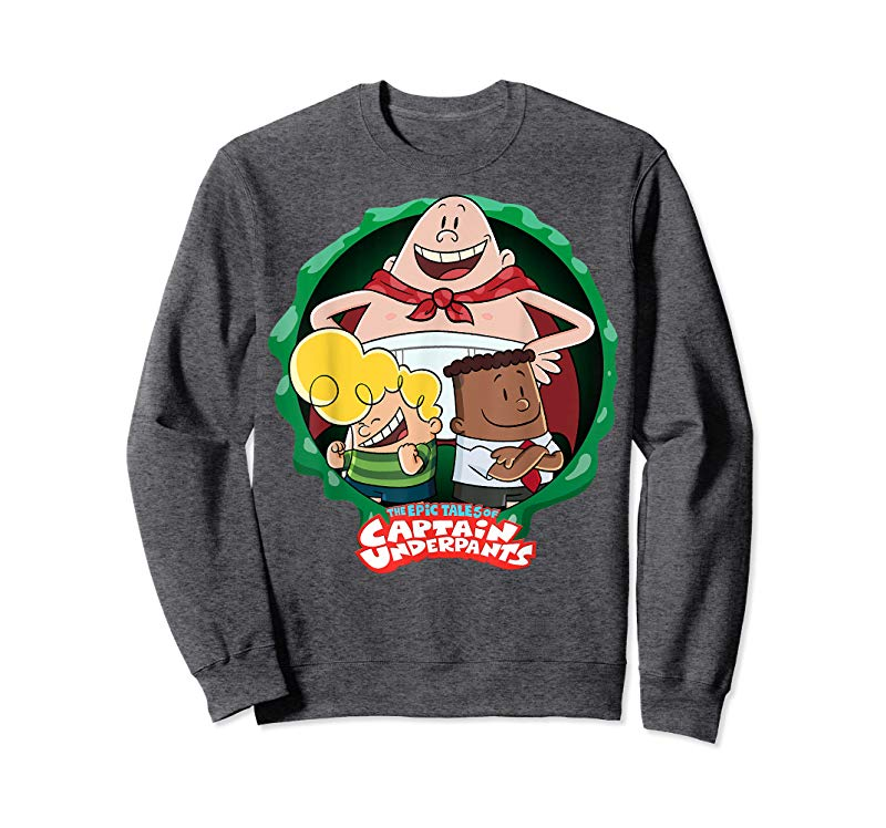 Trends Captain Underpants The First Epic Movie Squad T-Shirt