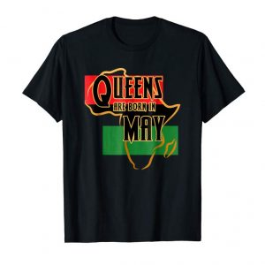 Buy Queens Are Born May Birthday Shirt African American Women