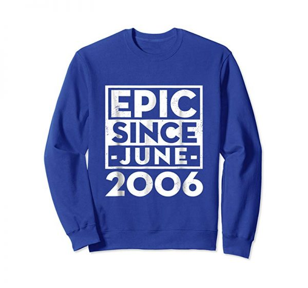 Order Now Epic Since June 2006 13th Birthday Party T-Shirt