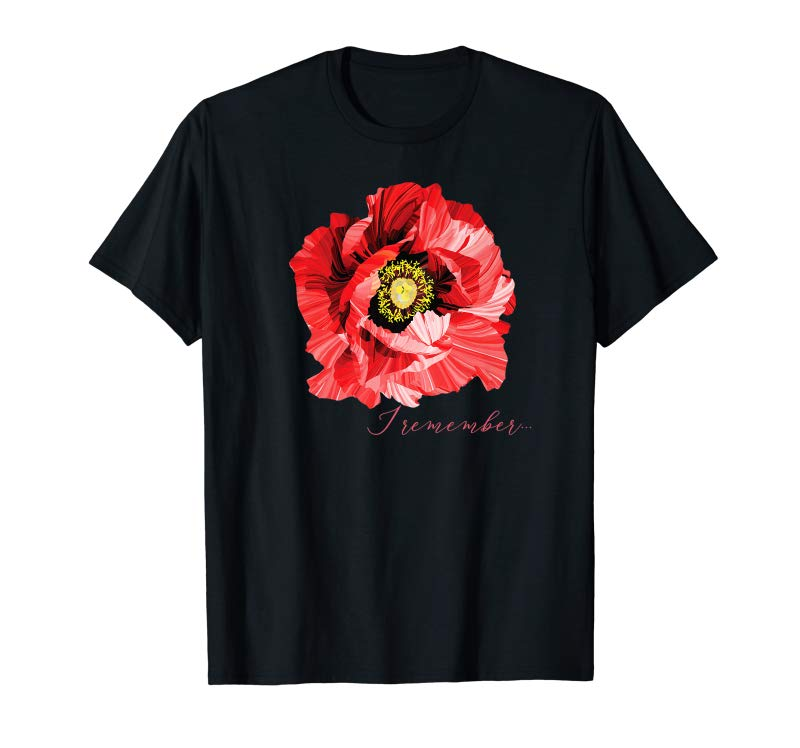 Buy Now Veterans Day Gift Flanders Field The Red Poppy Remember