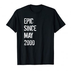 Trending 19 Year Old Gift T Shirt For Boys Girls Born May 2000