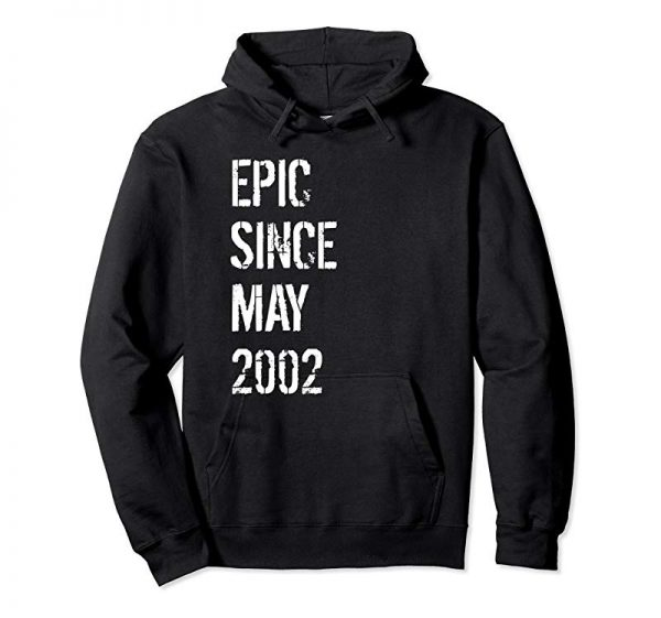 Buy 17 Year Old Gift T Shirt For Boys Girls Born May 2002